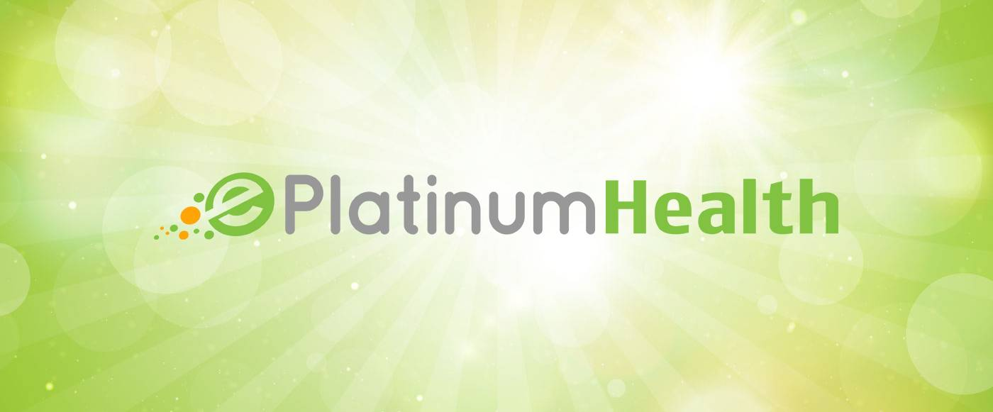 ePlatinum Health Logo with green background